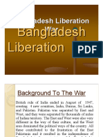 Banckground to Bangladesh Liberation War