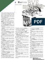 Muñoz Peña, Arsenio (1983) PALABRAS DE HERVÁS (CÁCERES) Alminar nº 47/1983 - Revista de la Institución Pedro de Valencia