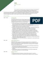 Team Examples Visualcv Resume