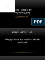 Model – Model Inti