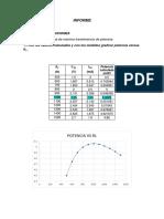 Teorema de Máxima Transferencia de Potencia Informe