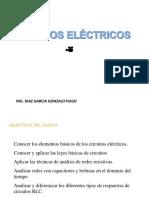 CIRCUITOS ELECTRICOS Corriente Alterna Directa Elementos Del Circuito Eléctrico Símbolos Eléctricos Unidades Eléctricas Magnitudes Eléctricas