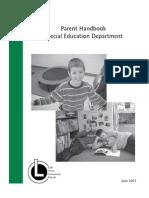 Parent_Handbook Spec Ed