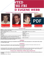 Donald Eugene Webb
