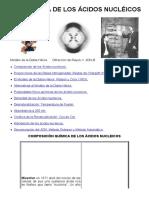 02-Estructura de los ácidos nucléicos