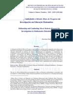 25-02-16 Artigo Delineando Metodo Pesquisa - Método Misto