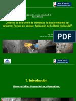 Criterios de Seleccion Sistemas de Sostenimiento.mfp.Aceros Arequipa.noviembre2007.