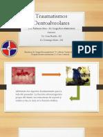 Traumatismos dentoalveolares