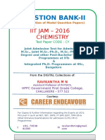 Cover Page -IIT JAM Chemistry - MP