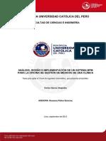 Garcia Carlos Analisis Diseño Implementacion Sistema Bpm Gestion Medicos Clinica