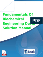 Fundamentals of Biochemical Engineering Dutta Solution Manual