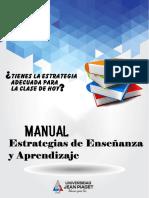 Manual de Estrategias de Enseñanza y Aprendizaje