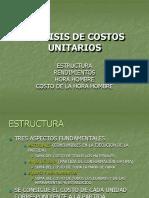 Estructura C.U