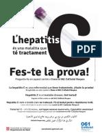 L'hepatitis C Fes-te la prova! 2017