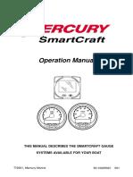 Mercury SmartCraft Operations Manual