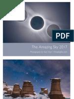 2017 Amazing Sky Calendar
