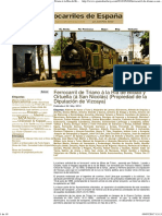 Spanish Railway » Blog Archive » Ferrocarril de Triano á La Ria de Bilbao y Ortuella (á San Nicolás) (Propiedad de La Diputación de Vizcaya)