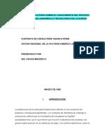 Proceso Productivo y Desarrollo Tecnolgico de La Quinua