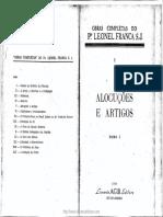 Pe. Leonel Franca - Alocuções Tomo I.pdf