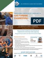 EIT Course Gas Turbine Engineering CGT Brochure Rev3