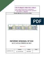 Informe Nº010 - Parque Miguel Grau