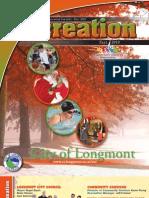 Longmont Fall Recreation Brochure 2010