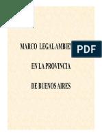 Modulo Legislacion - Prov Bs Aires