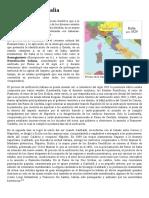 Unificación de Italia