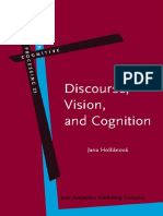 Discourse, Vision, And Cognition  - Jana Holsanova