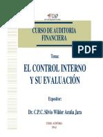 Evaluacion Del Control Interno