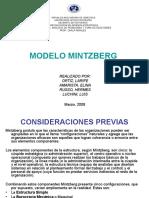 Modelo Mintzberg