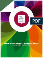 MANUAL DE OPERACIÓN DE LA NORMATECA INTERNA_AYAPANGO2017