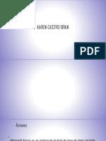 Karen Castro Bran Diapositivas