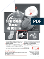 Resuscitador Manual de Bolsillo