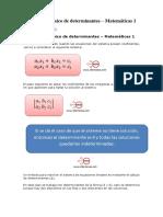 Método Algebraico de Determinantes