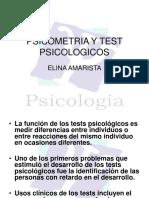 Psicometria y Test Psicologicos