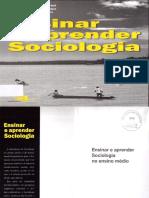 Ensinar e Aprender Sociologia No Ensino Médio-Maria Aparecida Bridi,Silvia Maria de Araújo e Benilde Lenzi Motim