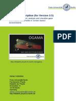 OGAMA Description (for Version 2.5)