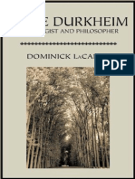 Dominick LaCapra-Emile Durkheim_ Sociologist and Philosopher (Critical Studies in the Humanities)  -The Davies Group Publishers (2001).pdf