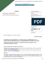 Exigencias Academicas y Estres en Las Carreras de La Facultad de Medicina de La Universidad Austral de Chile