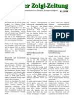Eslarner Zoigl Zeitung 01/2010