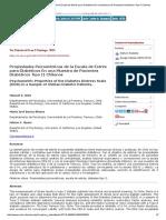 Propiedades Psicométricas de La Escala de Estrés Para Diabéticos en Una Muestra de Pacientes Diabéticos Tipo II Chilenos