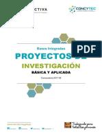 Bases Integradas Proyectos Investigacion 05.06.17