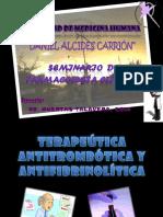 Semi de Terapeutica Antitrombotica