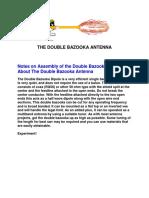 Double Bazooka Antenna
