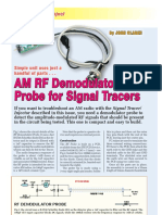 RF Probe for Signal Tracers