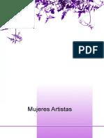 AAVV. - Mujeres Artistas. La Mujer en La Historia Del Arte
