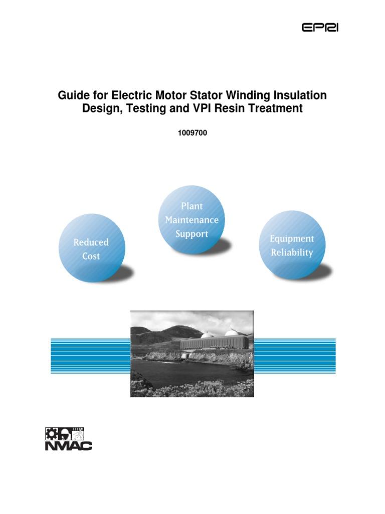 Stator Winding Diagram Handbook Trusted Schematics 12 Pole Brushless Dc Motor Wiring Guide For Electric Insulation Design Testing Car Alternator