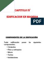Capitulo IV Edificaciones