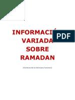 Informacion variada sobre el Ramadan